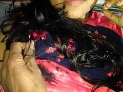 देशी लड़की की चुकाई हिन्दी में