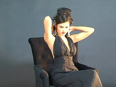 Bollywood Actress In Black Sexy Dress Filmed Naked By Boyfriend