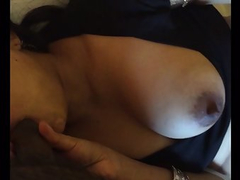 Big Tit Indian Bhabhi Blowjob
