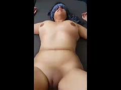 Indian Mature Fat Aunty Blindfolded Fucked Hard