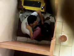 Indian College Lovers Fucking In Cyber Cafe
