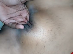 Amateur Indian GF Shaved Pussy Finger Fucked