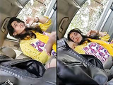 Today Exclusive- Super Hot Look Desi Pak Girl Blowjob In Car