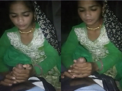 Exclusive- Indian Wife  Blowjob