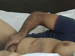 Indian young guy romance with big boobs wife