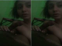 Today Exclusive-Cute Look Desi Girl Blowjob