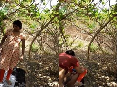 Today Exclusive- Desi Village Couple Romance and Out Door Sex PArt 2