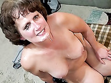 Denise gets monster black cock cum in mouth