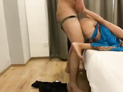 Skinny PAKI XXX sex with her Facebook lover video