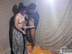 Desi XXX - young boy fucke her Tamil aunty in sit the waist part 1