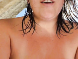 STEP MOM FUCKING ON A NUDUISTIC BEACH WITH STEPSON WHILE HUSBANDS SWIM.
