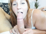 Tinder MILF Sensually And Sloppy Sucking My Big Dick On The First Date.