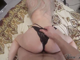 Beautiful KiaraHills Sensual Blowjob and Hard Cowgirl Big Cock Closeup