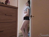 Naughty Stepdaughter 1 - Watching Stepdad jerk off! - Samantha Flair