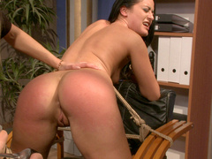 Nasty boss Nikky Thorne starves for total control